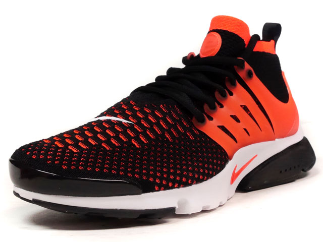 "NIKE AIR PRESTO ULTRA FLYKNIT ""LIMITED EDITION for NSW FLYKNIT""  BLK/ORG/WHT (835570-006)"