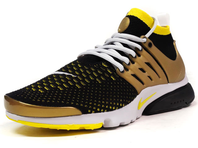 "NIKE AIR PRESTO ULTRA FLYKNIT ""LIMITED EDITION for NSW FLYKNIT""  BLK/YEL/GRY (835570-007)"