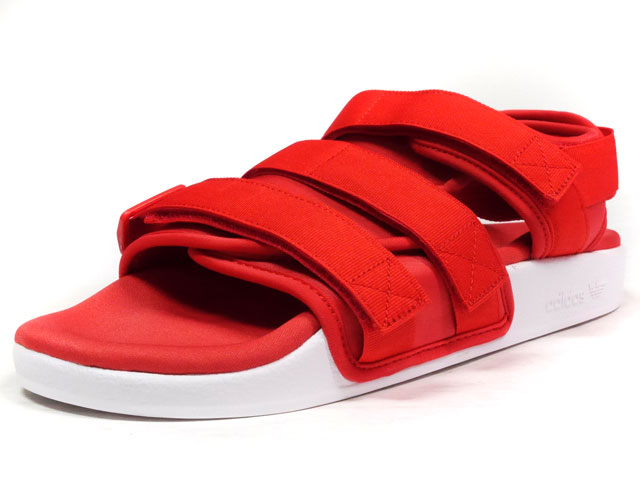 adidas ADILETTE SANDAL W  RED/WHT (S75380)