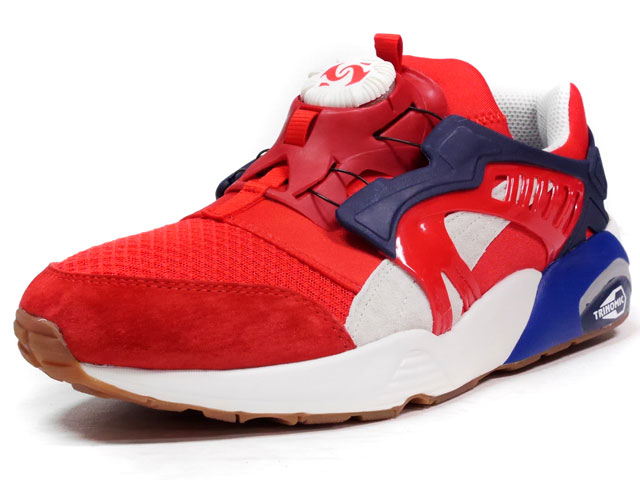 """Puma DISC BLAZE ATHLETIC """"LIMITED EDITION for D.C.5""""  RED/NVY/O.WHT (360860-01)"""