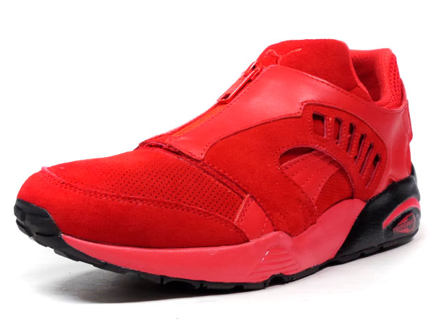 "Puma DISC ZIP FRENCH ""LIMITED EDITION for D.C.5""  RED/BLK (361448-01)"