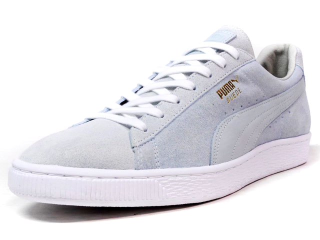 "Puma JAPAN SUEDE ASAGAO ""made in JAPAN"" ""LIMITED EDITION for 四季折々 COLLECTION""  SAX/WHT (363651-01)"