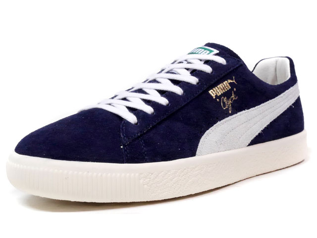 "Puma CLYDE HOME ""made in ITALY"" ""HOME & AWAY PACK"" ""LIMITED EDITION for CREAM""  NVY/WHT (362393-01)"