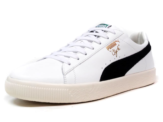 "Puma CLYDE AWAY ""made in ITALY"" ""HOME & AWAY PACK"" ""LIMITED EDITION for CREAM""  WHT/BLK (363465-01)"