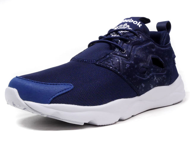 """Reebok FURY LITE SP """"SPECKLED PACK"""" """"LIMITED EDITION""""  NVY/WHT (AQ9955)"""