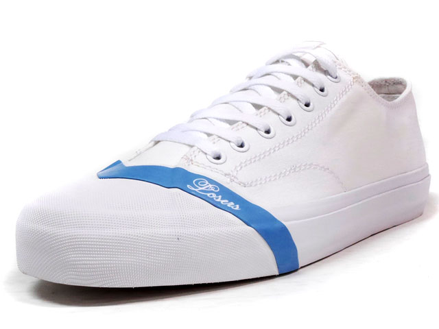 "LOSERS SCHOOLER CLASSIC LO ""COLORS"" ""CUSTOM MADE""  WHT/BLU (16SCL05)"