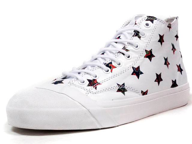 "LOSERS SCHOOLER CLASSIC HI ""INVERT STARS"" ""CUSTOM MADE""  WHT/STAR (16SCH01)"