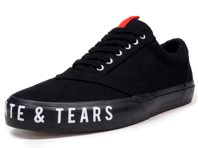 "LOSERS UNEAKER ""BLOOD,SKATE&TEARS"" ""CUSTOM MADE""  BLK/BLK (16UN04)"