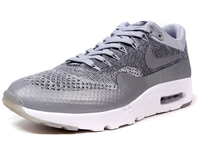 "NIKE AIR MAX I ULTRA FLYKNIT ""LIMITED EDITION for NSW FLYKNIT""  GRY/WHT (843384-001)"