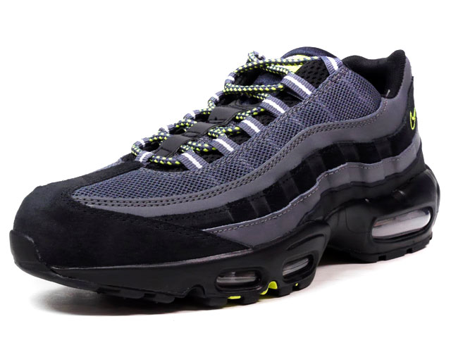 "NIKE AIR MAX 95 ESSENTIAL ""LIMITED EDITION for ICONS""  BLK/GRY/YEL (749766-017)"