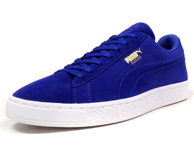"Puma SUEDE CLASSIC + DEBOSSED ""LIMITED EDITION for D.C.4""  BLU/WHT (361097-01)"