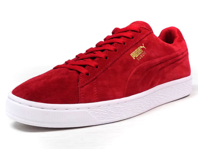 "Puma SUEDE CLASSIC + DEBOSSED ""LIMITED EDITION for D.C.4""  RED/WHT (361097-03)"