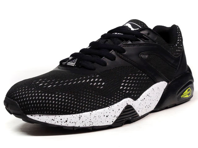 "Puma R698 ENG. MESH BLOCK ""LIMITED EDITION for D.C.4""  BLK/BLK/WHT (361925-01)"