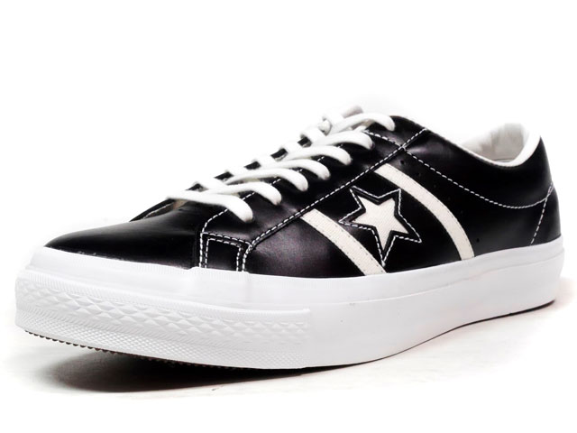 """CONVERSE STAR & BARS LEATHER """"LIMITED EDITION""""  BLACK/WHITE (32340301)"""