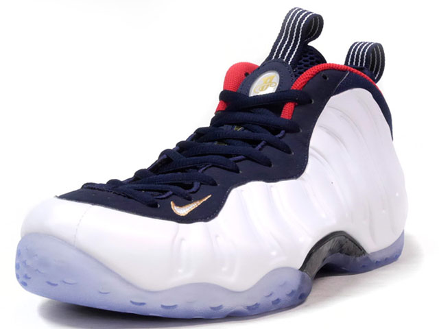 "NIKE AIR FOAMPOSITE ONE PREMIUM ""OLYMPIC"" ""LIMITED EDITION for NONFUTURE""  WHT/NVY/RED/GLD (575420-400)"