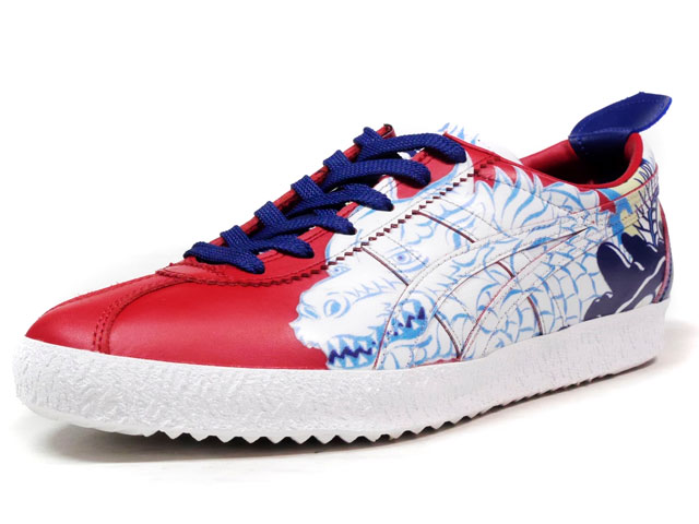 "Onitsuka Tiger MEXICO DELEGATION ""The Art of Mixing"" ""ATSUO NAKAGAWA""  RED/SAX/BLU/WHT (TH6N4L-2323)"