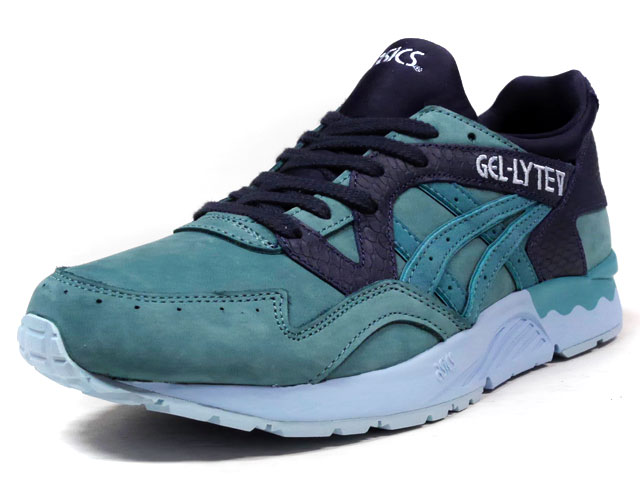 "ASICS Tiger GEL-LYTE V ""KING FISHER PACK"" ""LIMITED EDITION for L1""  E.GRN/NVY/SAX (TQ6P3L-4848)"