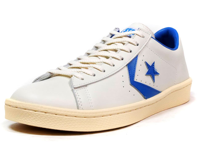"CONVERSE PRO-LEATHER 76 OX ""PRO-LEATHER 40th ANNIVERSARY"" ""LIMITED EDITION""  WHT/L.BLU (32649256)"