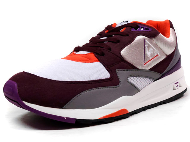 """le coq sportif LCS R 800 90'S """"DYNACTIF SYSTEM 25th ANNIVERSARY"""" """"LIMITED EDITION""""  PPL/WHT/GRY/ORG (1621189)"""