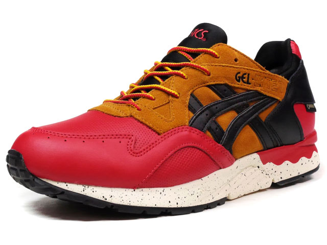 "ASICS Tiger GEL-LYTE V ""GORE-TEX PACK"" ""LIMITED EDITION for L2""  RED/BRN/BLK (TQL6E2-2590)"