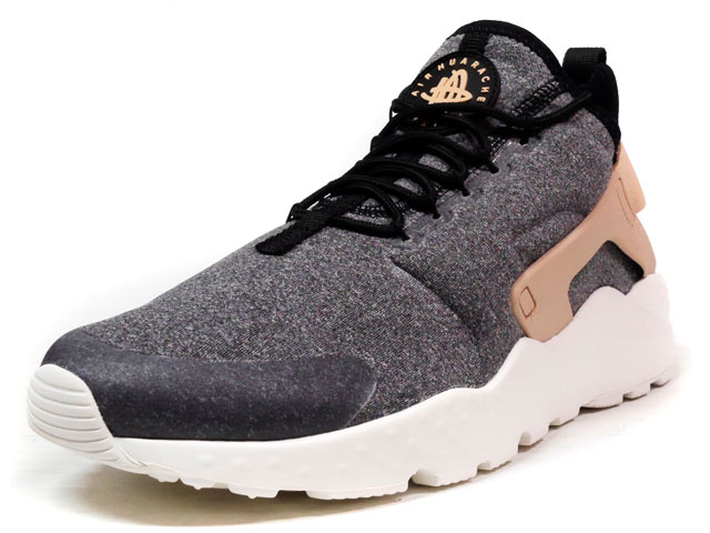 """NIKE (WMNS)AIR HUARACHE RUN ULTRA SE """"LIMITED EDITION for ICONS""""  GRY/BLK/BGE (859516-001)"""