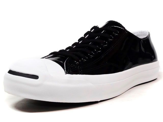 "CONVERSE JACK PURCELL ENAMEL LEATHER ""LIMITED EDITION""  BLK/WHT (32242891)"