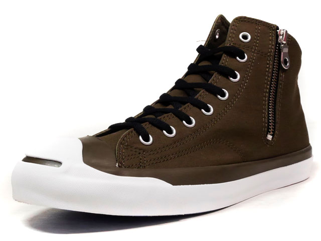 "CONVERSE JACK PURCELL WAXCOTTON MID ""LIMITED EDITION""  OLV/WHT (32262874)"