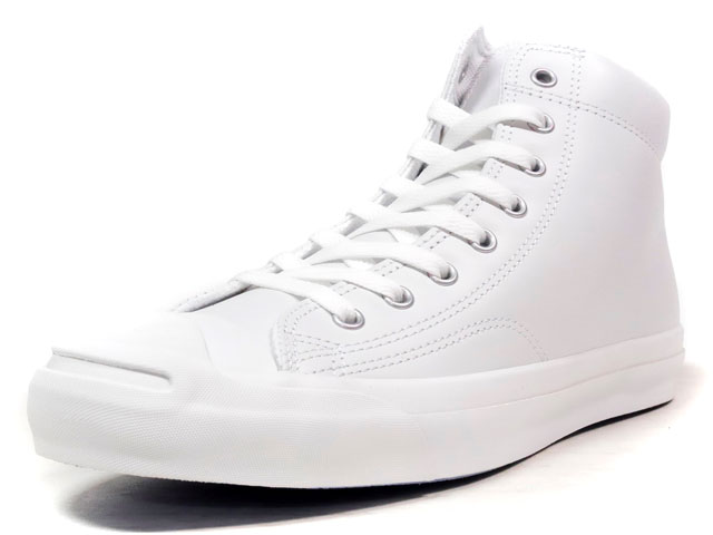 "CONVERSE JACK PURCELL LEATHER MID ""LIMITED EDITION""  WHT/WHT (32243000)"