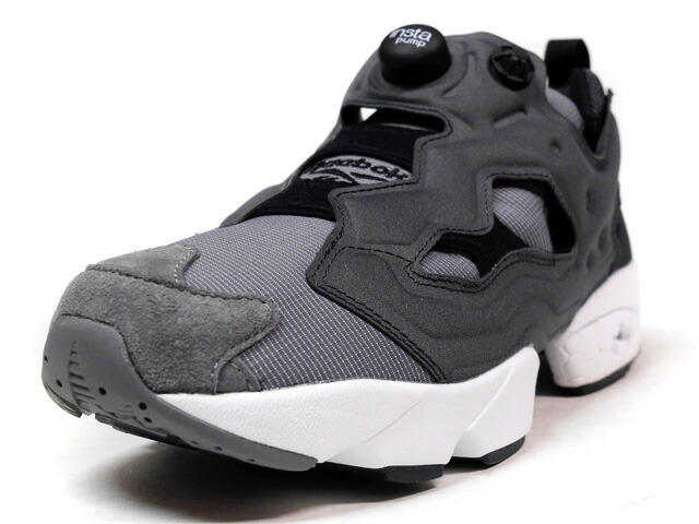 "Reebok INSTA PUMP FURY TECH ""TECH SERIES"" ""LIMITED EDITION""  GRY/C.GRY/BLK (AR0625)"