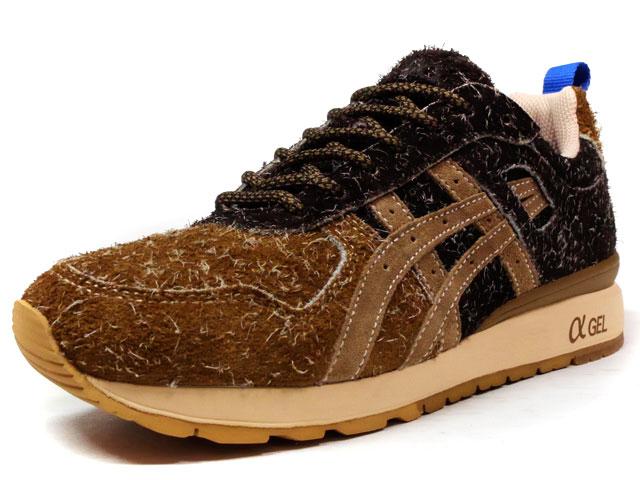 """ASICS Tiger GT-II """"Squirrel"""" """"mita sneakers""""  L.BRN/BRN/RED/BLU (TQK6K3-6164)"""