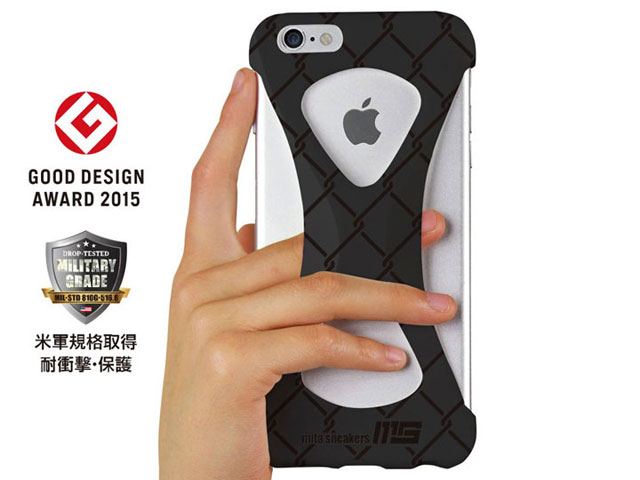"GOODS Palmo x mita sneakers for iPhone 6s Plus & iPhone 6 Plus ""TRIPLE BLACK"" BLK (palmo6pms)"