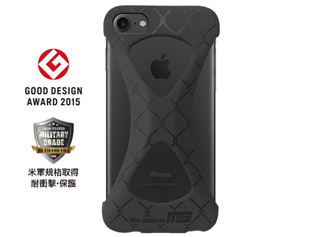 "GOODS Palmo x mita sneakers for iPhone 8 & iPhone 7 ""TRIPLE BLACK"" BLK (palmo7ms)"
