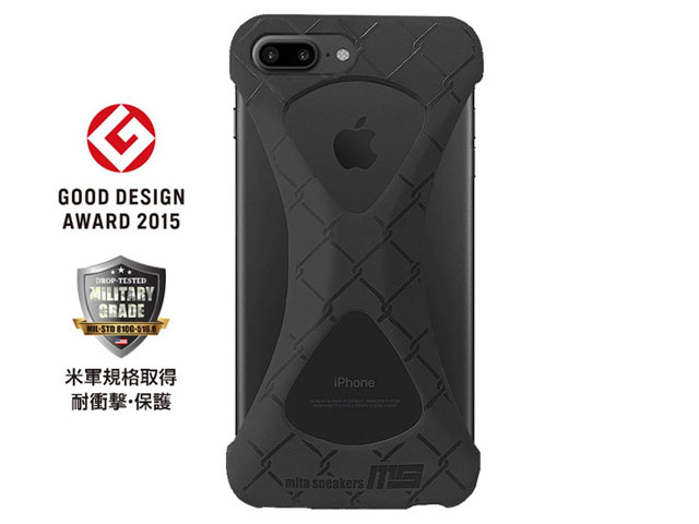 "GOODS Palmo x mita sneakers for iPhone 8 Plus & iPhone 7 Plus ""TRIPLE BLACK"" BLK (palmo7pms)"