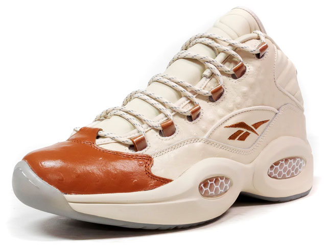 "Reebok QUESTION MID SNS ""PAPER WHITE"" ""Sneakersnstuff""  BGE/BRW (BD2532)"