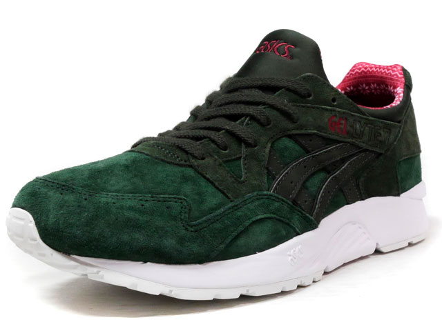 "ASICS Tiger GEL-LYTE V ""CHRISTMAS PACK"" ""LIMITED EDITION for L2""  GRN/RED/WHT (TQ6R2L-8082)"