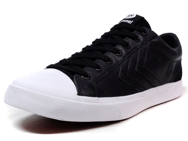 hummel BASELINE COURT LEATHER  BLK/WHT (HM64279-2001)