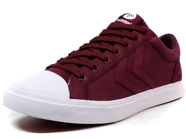 hummel BASELINE COURT LEATHER  BGD/WHT (HM64279-3661)