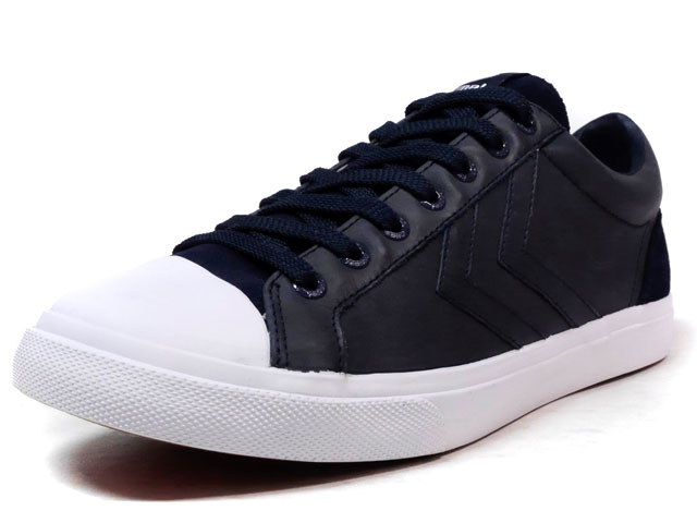hummel BASELINE COURT LEATHER  NVY/WHT (HM64279-7364)