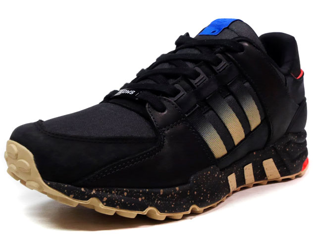 """adidas EQUIPMENT RUNNING SUPPORT """"HIGHS AND LOWS"""" """"LIMITED EDITION for CONSORTIUM""""  BLK/RED/BLU/BGE (BA9630)"""