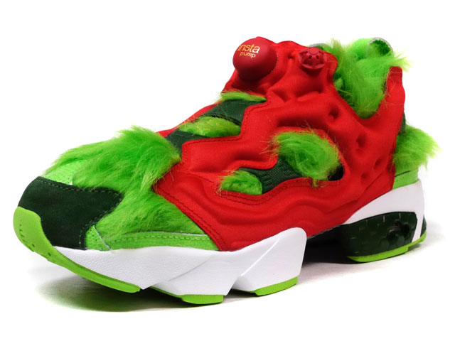 "Reebok INSTAPUMP FURY CV ""GRINCH"" ""LIMITED EDITION""  L.GRN/GRN/RED/WHT (BD4758)"