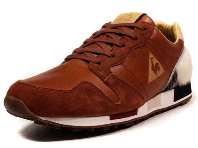 "le coq sportif OMEGA OG MIF ""made in FRANCE"" ""Starcow"" ""LIMITED EDITION for Le CLUB""  BRN/BGE (1611495)"