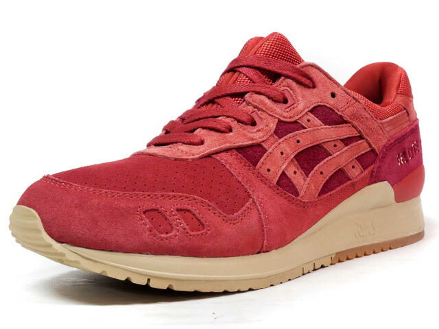 "ASICS Tiger GEL-LYTE III ""TANDOORI SPICE PACK"" ""LIMITED EDITION for L1""  BGD/RED/BGE/GUM (TQ7Q4L-2727)"