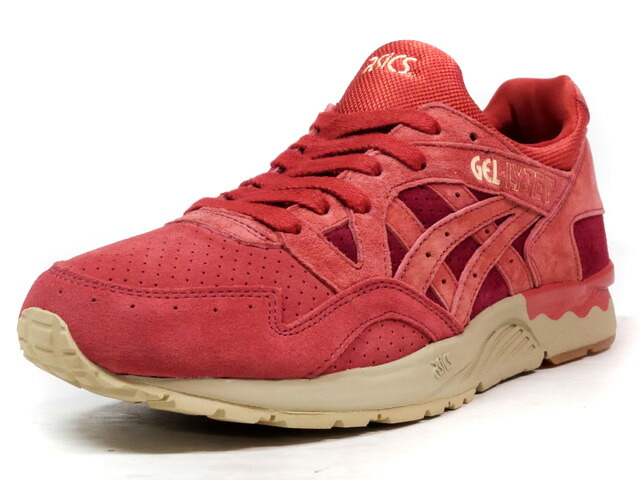 "ASICS Tiger GEL-LYTE V ""TANDOORI SPICE PACK"" ""LIMITED EDITION for L1""  BGD/RED/BGE/GUM (TQ7P2L-2627)"
