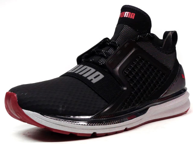 "Puma IGNITE LIMITLESS HIGH TECH ""TECH PACK"" ""KA LIMITED EDITION""  BLK/SLV/RED (190155-01)"