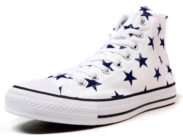 CONVERSE ALL STAR ST HI  WHT/NVY (32069560)