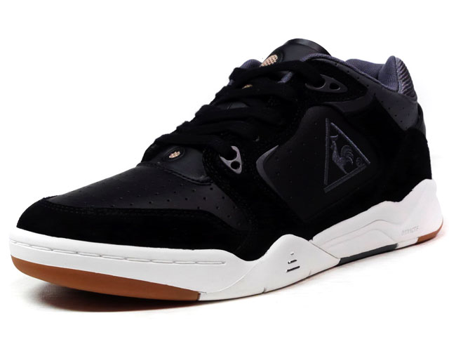 "le coq sportif LCS T 4000 LEA/SUEDE ""LIMITED EDITION""  BLK/C.GRY/WHT (1620178)"