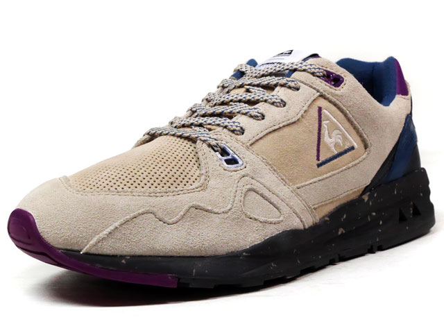 "le coq sportif LCS R 1000 90'S OUTDOOR ""DYNACTIF SYSTEM 25th ANNIVERSARY"" ""LIMITED EDITION""  L.GRY/C.GRY/NVY/PPL (1620288)"