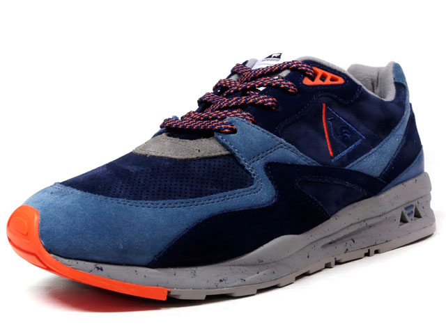 "le coq sportif LCS R 800 90'S OUTDOOR ""DYNACTIF SYSTEM 25th ANNIVERSARY"" ""LIMITED EDITION""  NVY/BLU/GRY/ORG (1620289)"