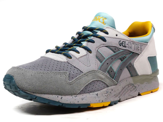 "ASICS Tiger GEL-LYTE V ""LIMITED EDITION for L2""  GRY/C.GRY/E.GRN/YEL (TQ7J4L-9697)"