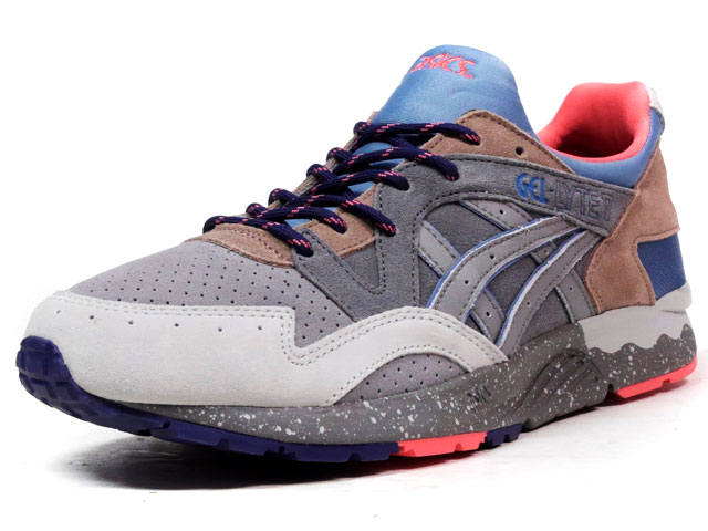 "ASICS Tiger GEL-LYTE V ""LIMITED EDITION for L2""  GRY/C.GRY/BRN/PNK (TQ7J4L-9796)"